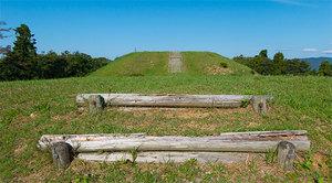 国指定史跡 雨の宮古墳群